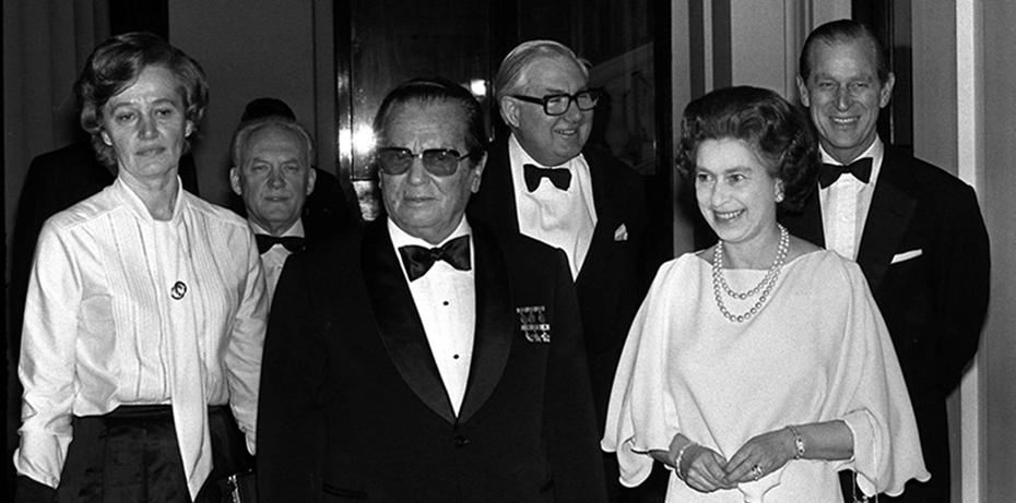 Tito with Queen Elizabeth